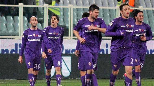 Italian Serie A - Fiorentina hit four past sorry Inter