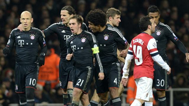 Hasil Pertandingan Arsenal Vs Munchen