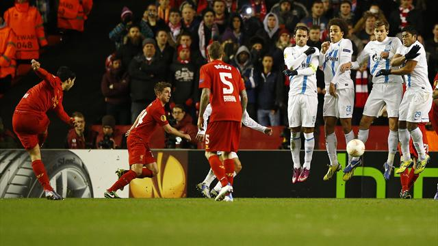 Europa League - Brave Liverpool bow out to Zenit on away goals