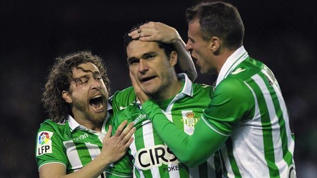 Spanish Liga - Real Betis too good for Malaga
