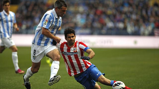 Liga - Malaga hold Atletico to goalless draw