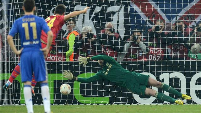 Europa League - Rusescu penalty edges out Chelsea