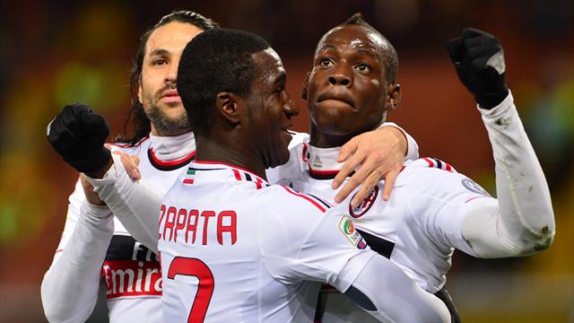 Serie A - Balotelli on target again as Milan beat Genoa