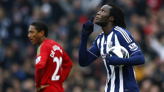 Premier League - West Brom get lucky to beat Swansea