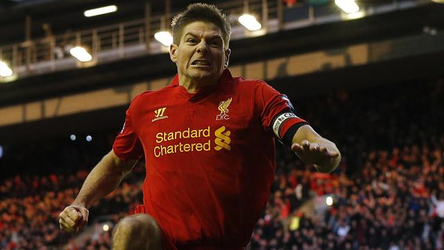 Premier League - Gerrard on the spot as Liverpool sink Spurs
