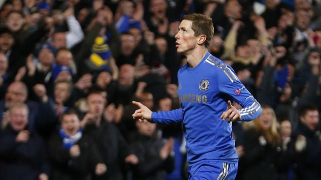 Europa League - Torres scores winner to seal Chelsea progress