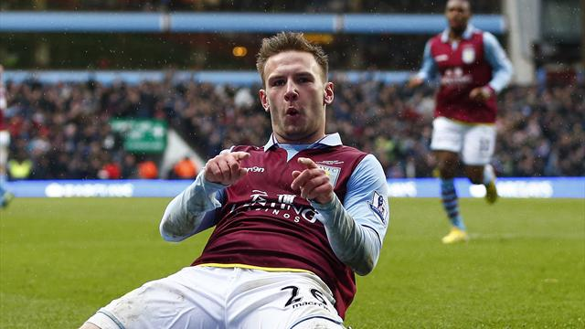 Premier League - Aston Villa sink QPR in chaotic encounter