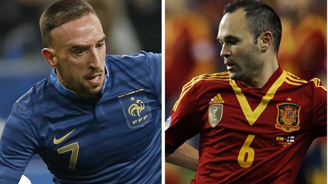 World Cup - Watch France v Spain LIVE