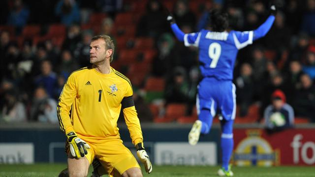 World Cup - Northern Ireland beaten by clinical Israel