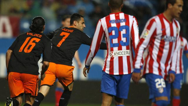 Spanish Liga - Atletico settle for draw against Valencia