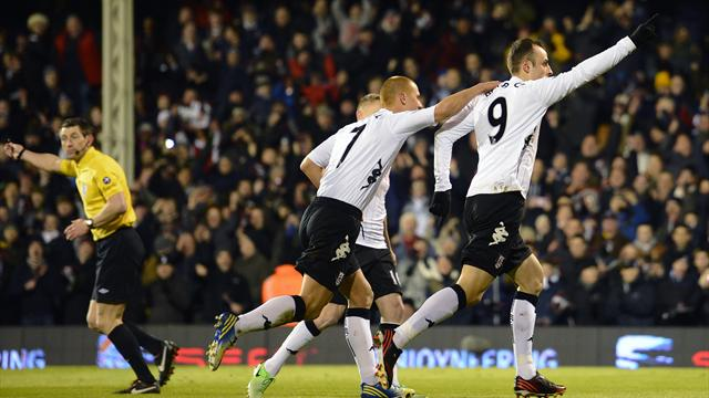 Premier League - Fulham cling on to beat QPR in thriller