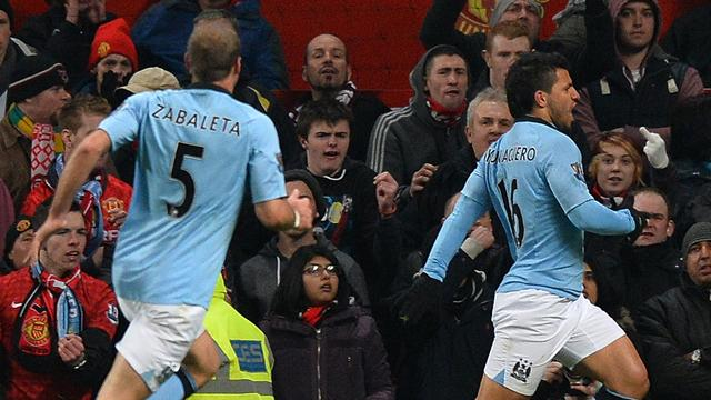 Premier League - Aguero stunner seals derby win for City