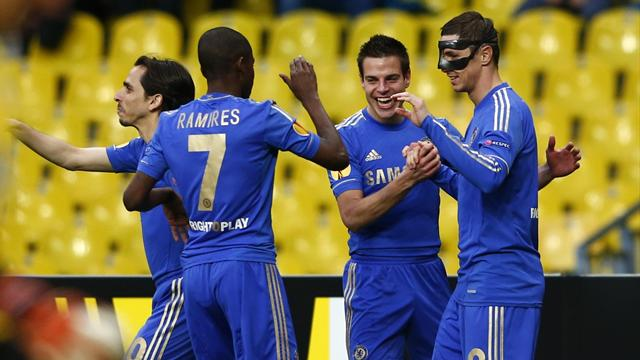 Europa League - Chelsea through despite defeat in Russia
