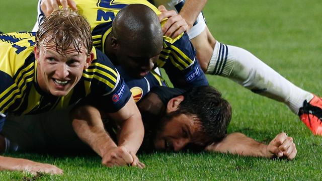 Europa League - Korkmaz header seals Fenerbahce win over Benfica