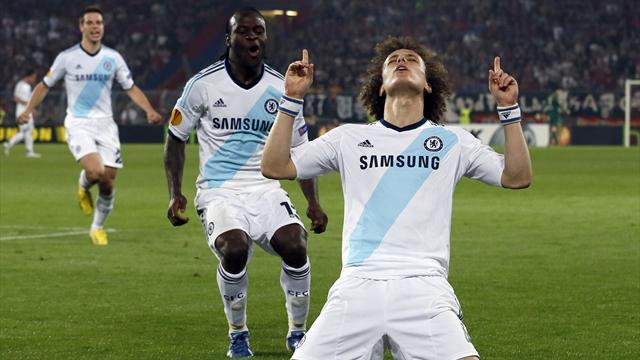 Europa League - Last-gasp Luiz sees Chelsea win at Basel