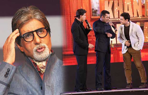 Amitabh Bachchan Pours His Heart Over Shah Rukh Khan, Salman Khan And Aamir Khan