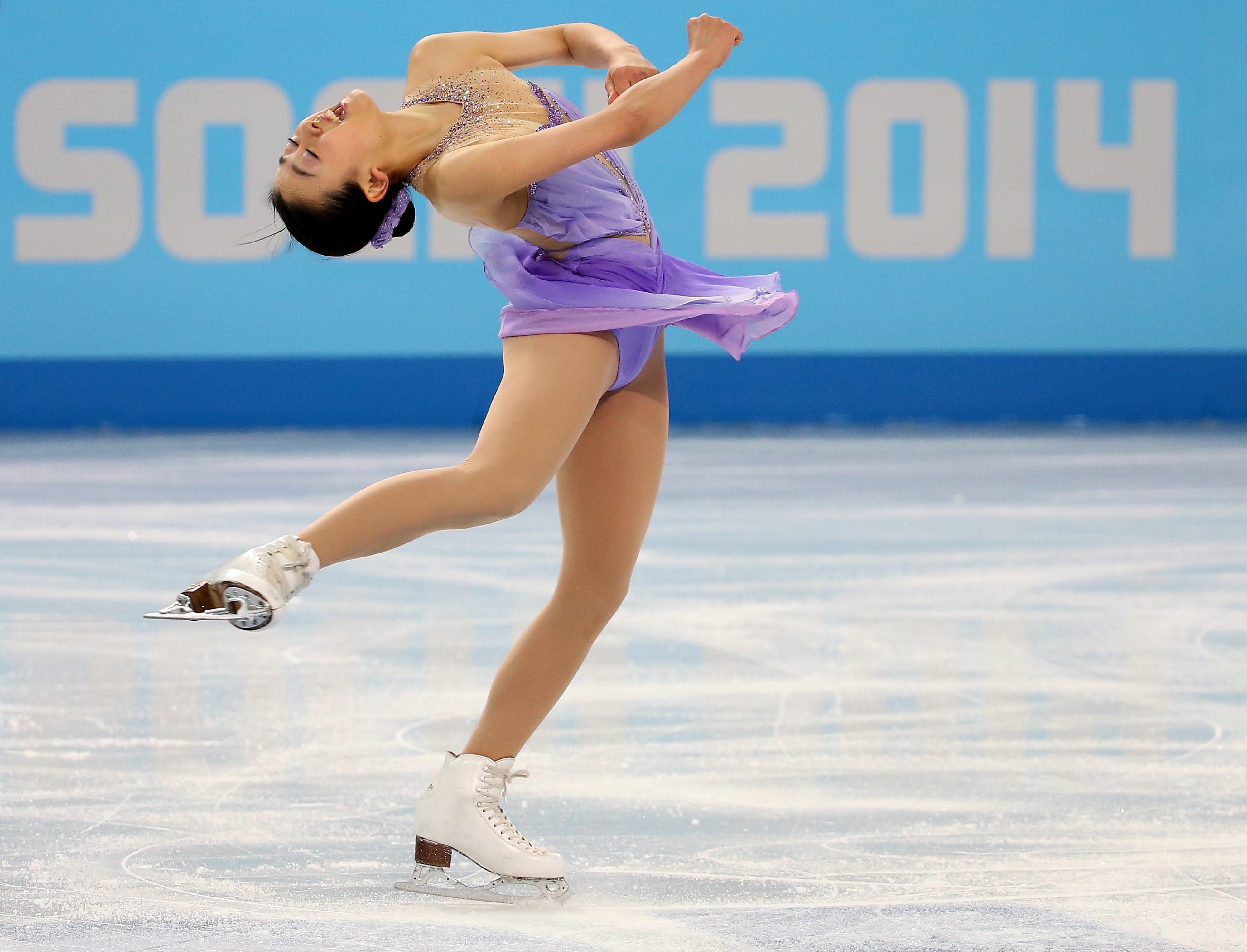Mao asada of japan performs during the figure skating ladies short mao asada of japan performs during the figure skating ladies short program at iceberg skating palace during the sochi 2014 olympic games sochi ru voltagebd Gallery