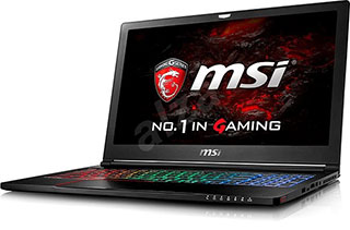 MSI GS63VR 6RF Stealth Pro.