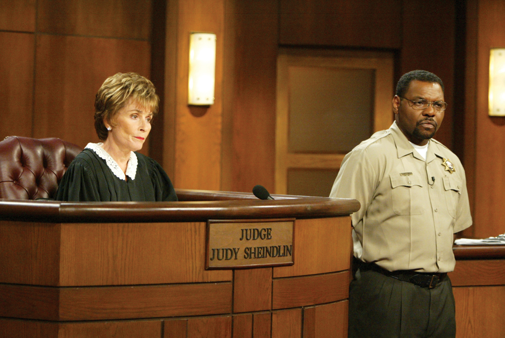 Judge Judy  Wikipedia The Free Encyclopedia  Prejudice