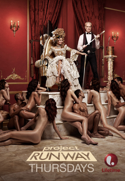 Nude 'Project Runway' Billboard Nixed in Los Angeles
