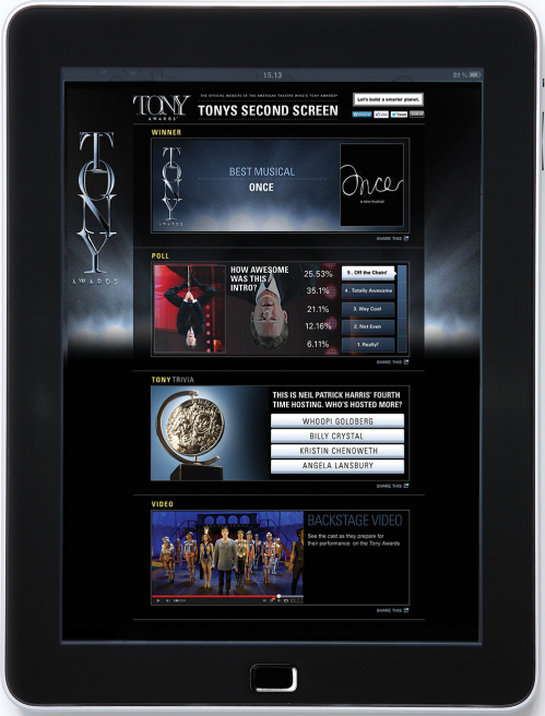 Tony Awards Dive Into the Digital Stream