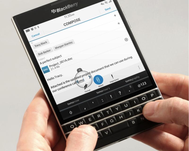 Every single BlackBerry Passport spec revealed in huge leak