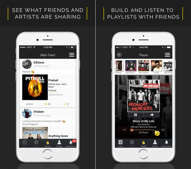 This iPhone app lets you share and listen to full-length songs for free – and it's legal