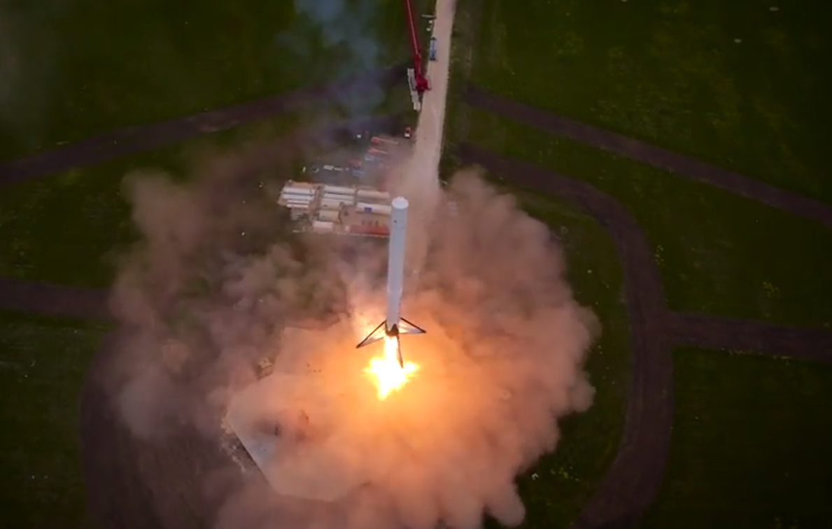 Watch this incredible video of Elon Musk's reusable rocket in action