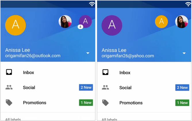 Your first look at Google's gorgeous new Gmail app for Android 5.0