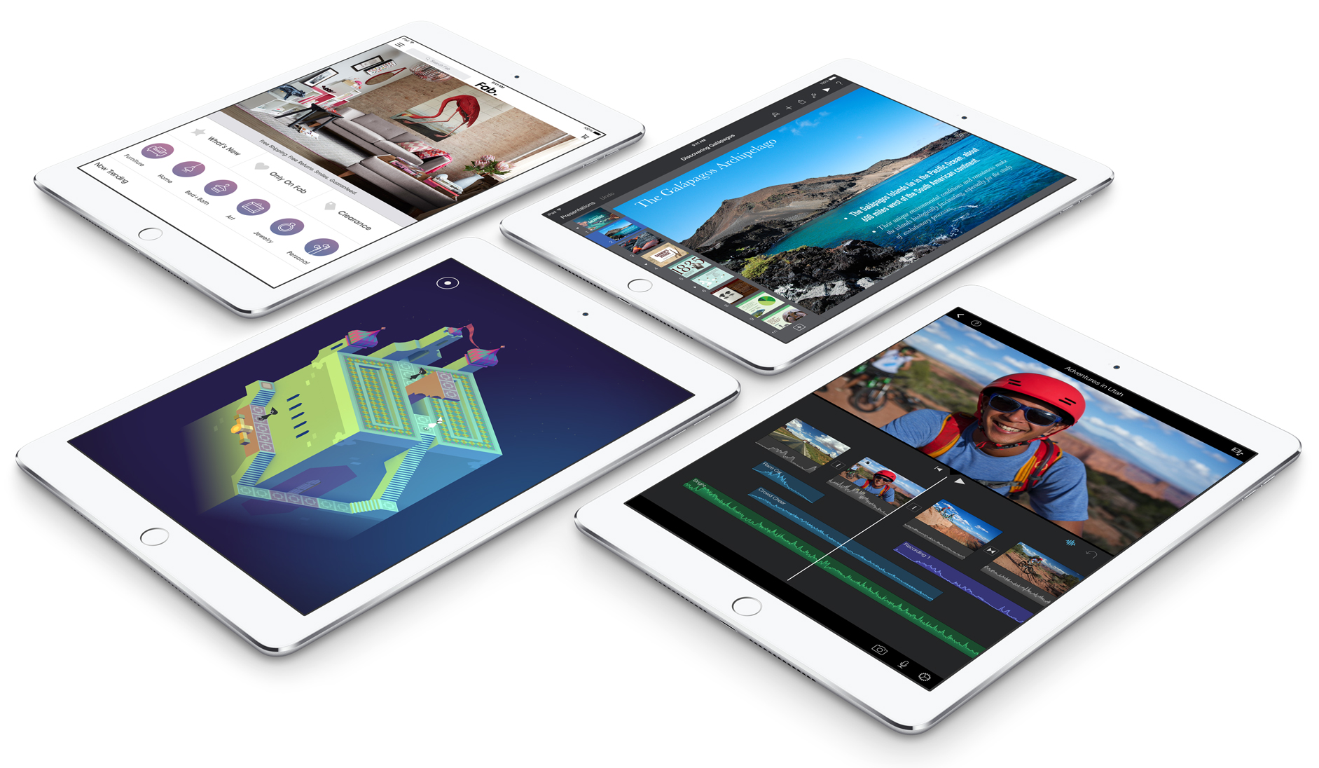 You can preorder the brand new iPad Air 2 and iPad mini 3 starting right now