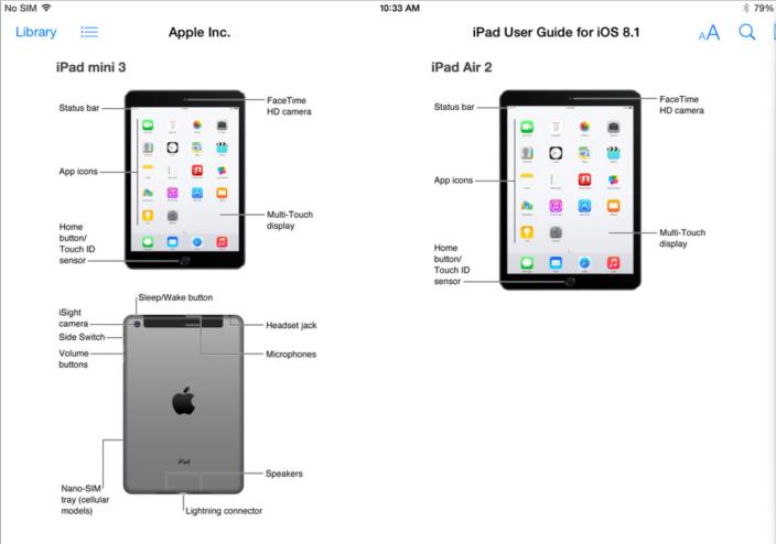 These are Apple's brand new iPads: iPad Air 2 and iPad mini 3