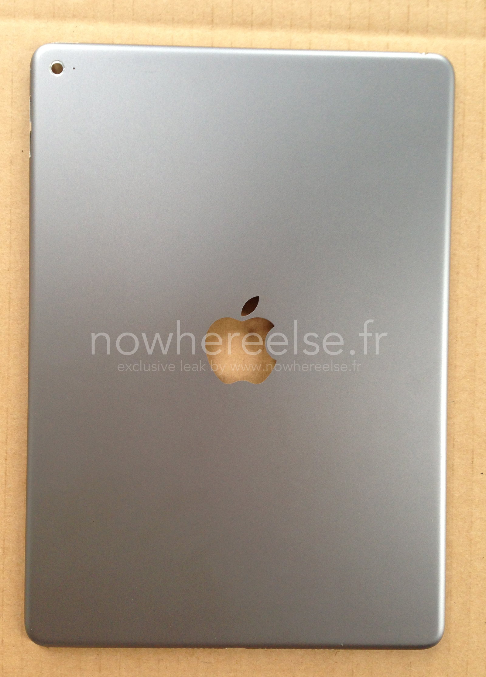 Next-gen iPad Air rear shell shown up close in major new leak