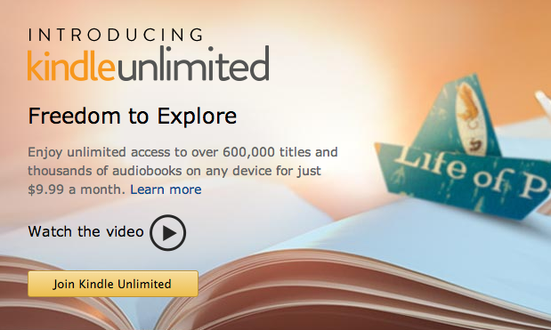 Amazon officially unveils eBook subsciption service Kindle Unlimited