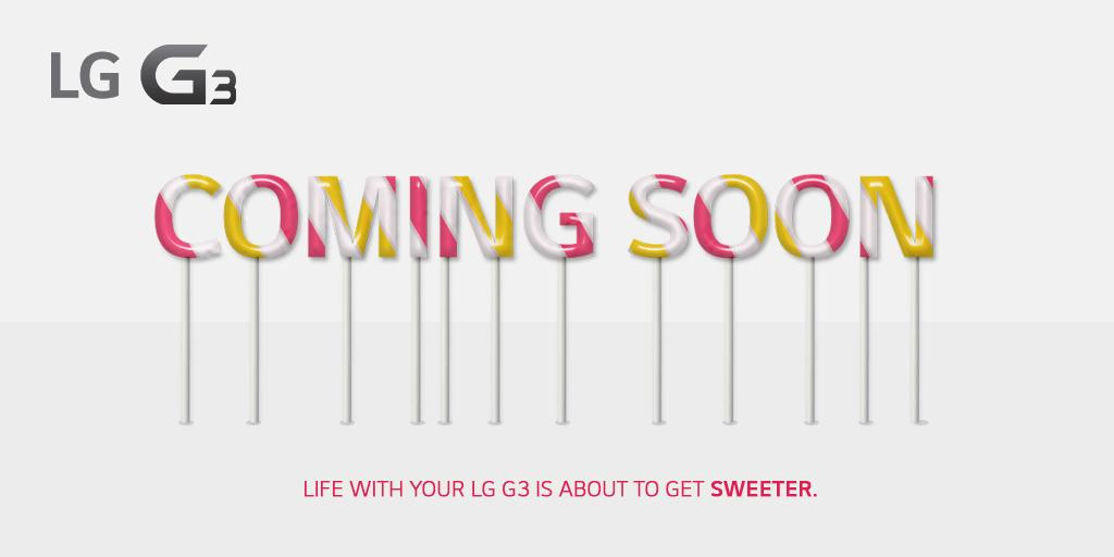 LG: Android 5.0 Lollipop update is 'coming soon' to the G3