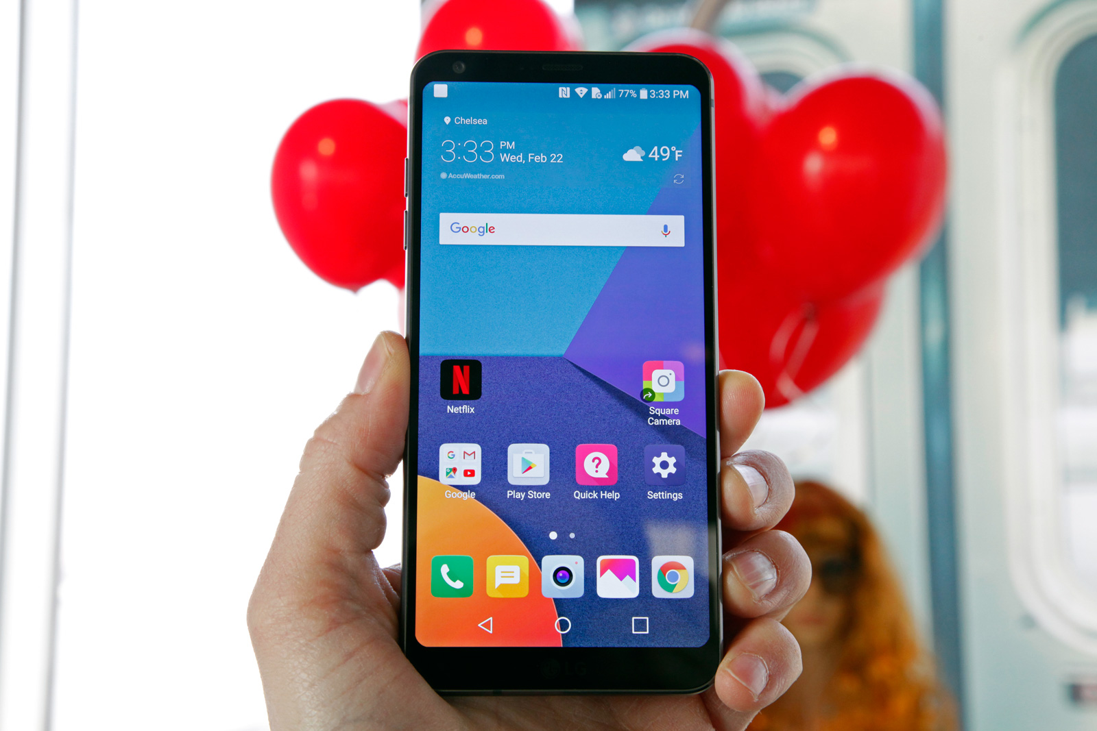 LG G6 hands-on: 42 days at the top