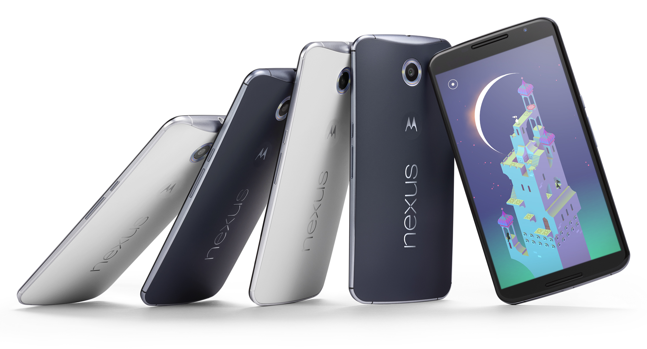 Check out the gigantic Nexus 6 compared to every Nexus phone ever made