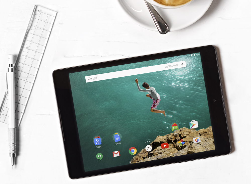 Nexus 9 not supposed to be an iPad Air 2 killer, just a template for one