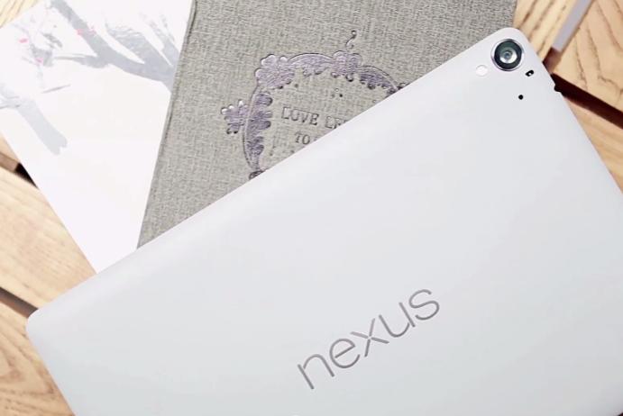 New video gives us a fantastic up-close look at the Nexus 9