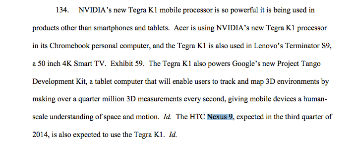 The Google Nexus 9 has just been confirmed, and you can thank Samsung for that