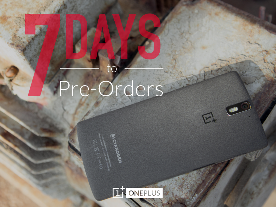 You can finally preorder the OnePlus One on October 27th
