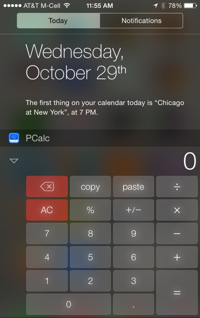 Apple threatened to remove the best iOS 8 widgets in the App Store… and then changed its mind