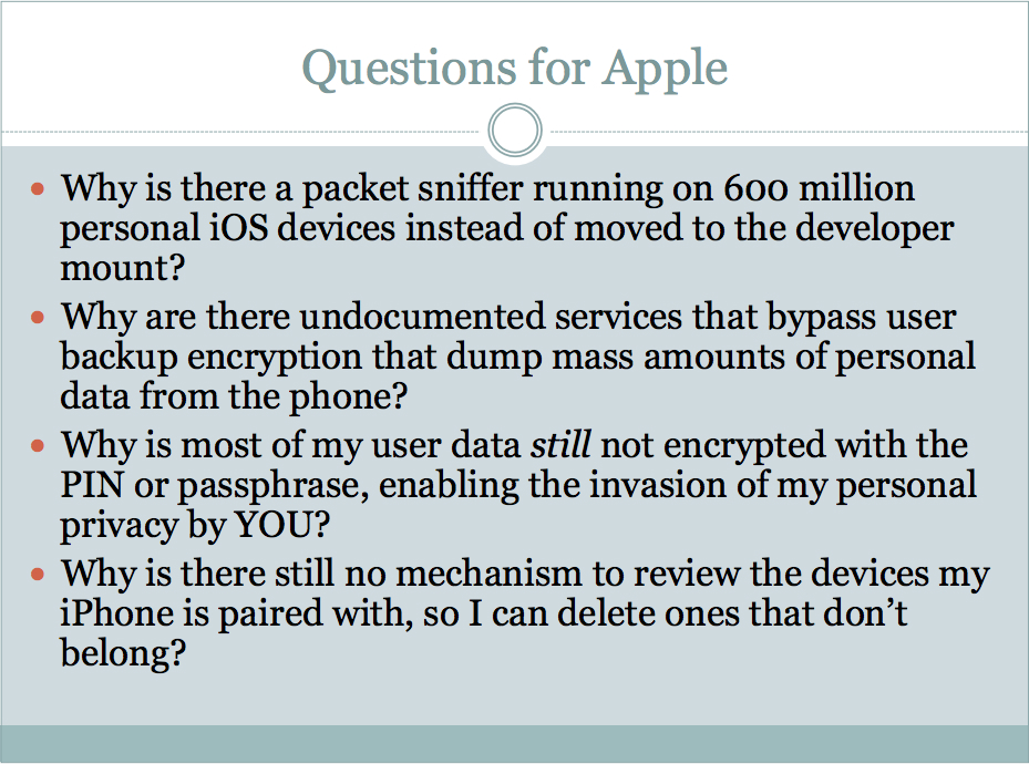 Security researcher: iOS security has been intentionally compromised by Apple