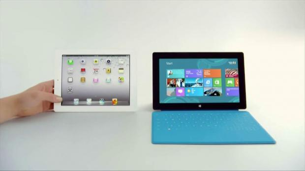 Microsoft's Surface is still getting mistaken for an iPad by NFL announcers after a $400M deal