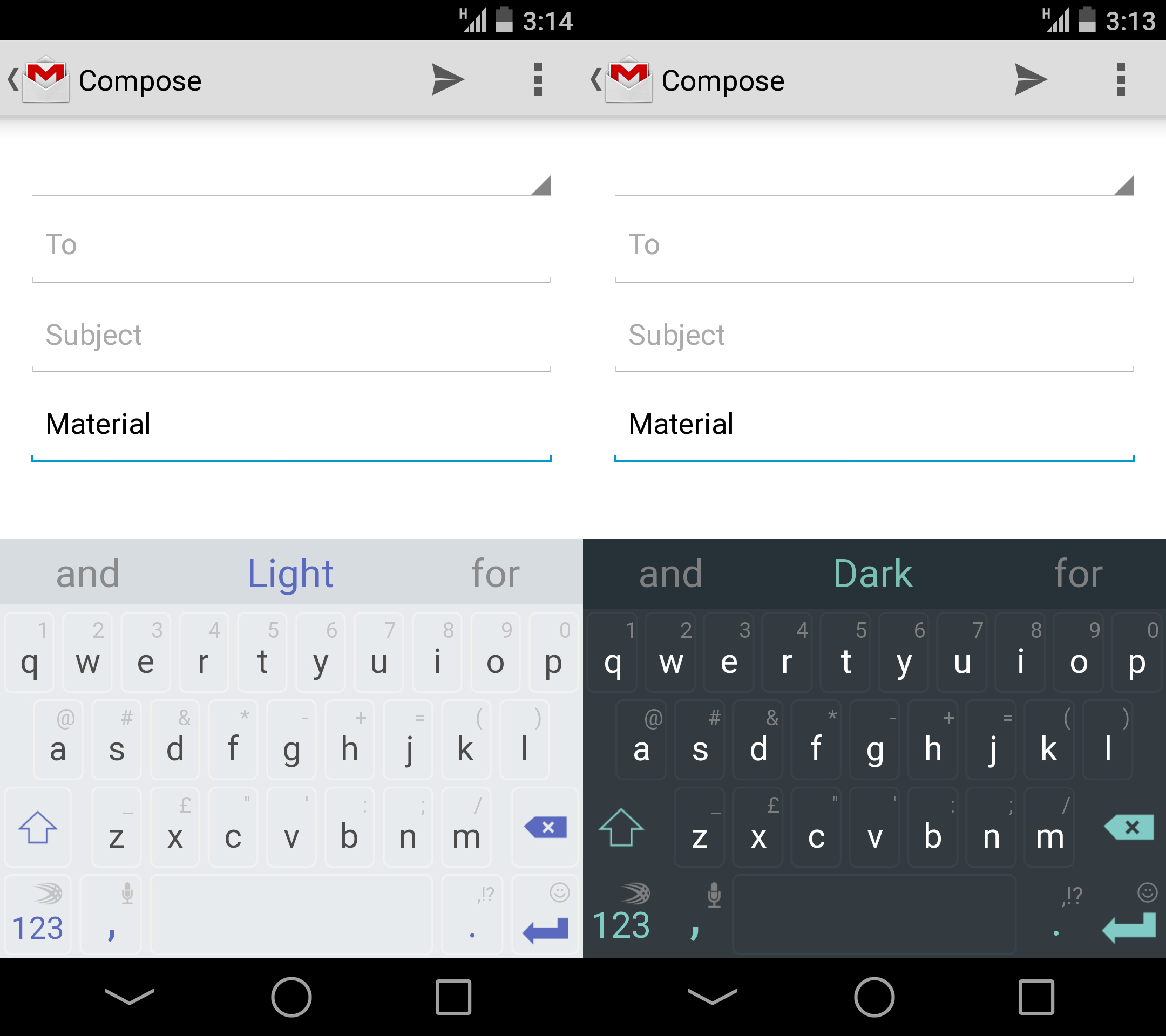 You can bring Google's gorgeous new Material Design to your Android keyboard right now