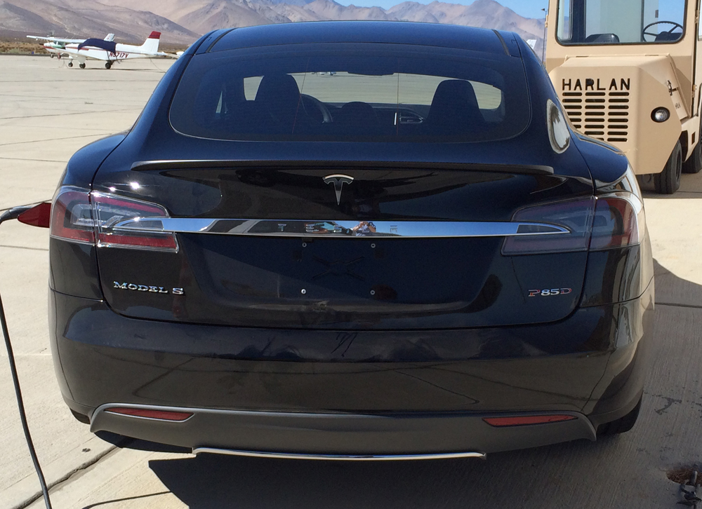 A leaked photo may have just spoiled Tesla's upcoming 'D' announcement