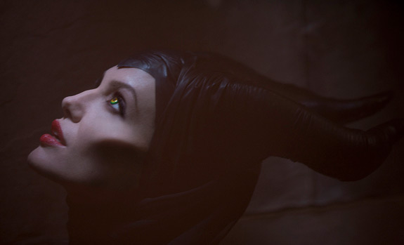 Get An Eyeful Of Angelina Jolie As Maleficent As Disney Film Gets Underway