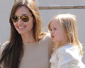 Disney Casts Angelina Jolie-Brad Pitt Daughter As Young Princess