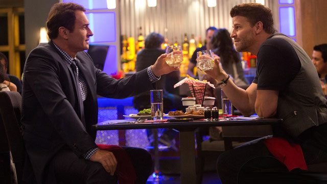 "Julian McMahon and David Boreanaz in ""Full Circle"""
