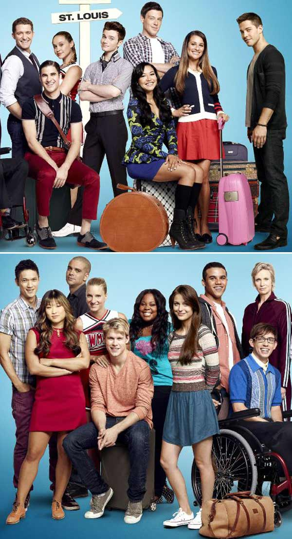 Dianna Agron Missing From 'Glee' Season 4 Poster — Is Quinn Done?