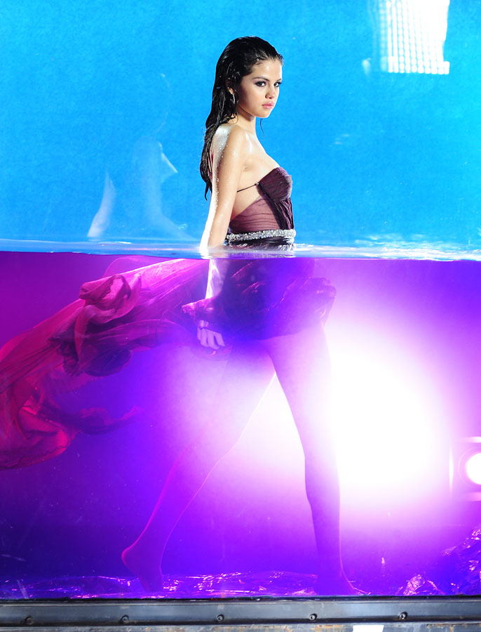 A Behind The Scenes Look At The Shoot For Selena Gomez` Soon To Be Released Fragrance